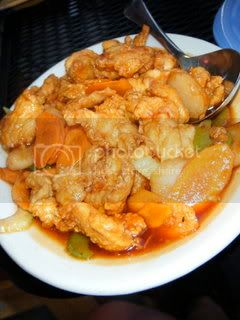 Monsoons Mandarin Orange Chicken
