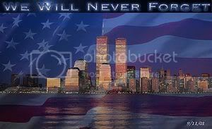 We Will Never Forget 9/11/01*